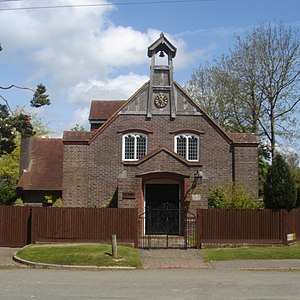 Ansty, West Sussex - Image: Former St John's Chapel, Ansty
