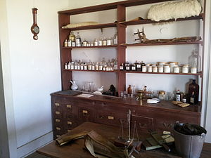 Fort Richardson (Texas) - Image: Fort Richardson Pharmacy