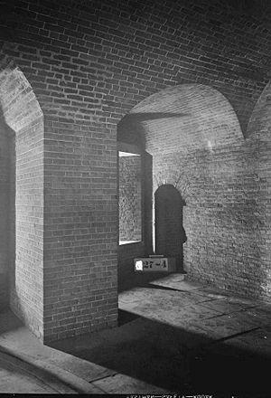 Fort Wayne (Detroit) - Gun emplacement, 1934