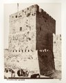 Fotografi på Davids torn i Jerusalem - Hallwylska museet - 104393.tif