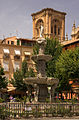 Fountain of Neptune BibRambla Granada Spain.jpg