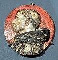 Fra ambrogio della robbia, medaglione in terracotta col profilo di savonarola, 1498 ca.jpg