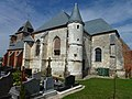 Fraillicourt (Ardennes) église Notre-Dame, vue du sud.JPG