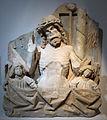 Frammenti dalla certosa di thorberg, berna, cristo in pietà, 1450-60 ca..JPG