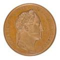 Framsida av medalj med tsar Nicolaus I av Ryssland - Skoklosters slott - 99317.tif