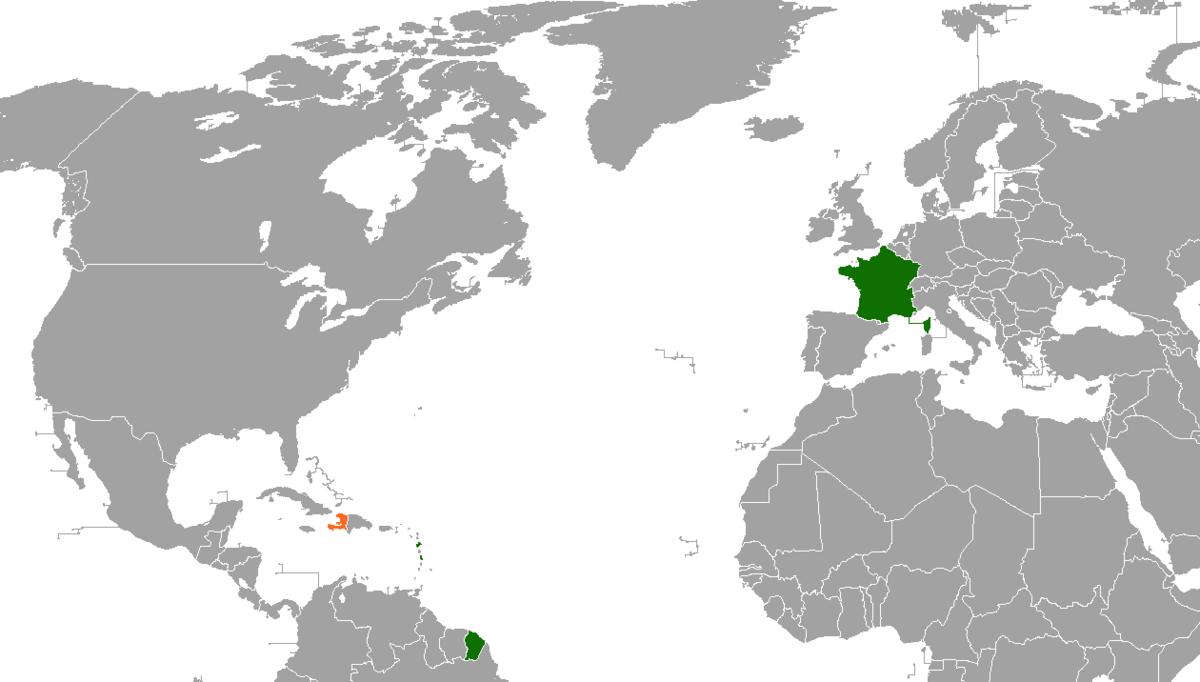 Franceu2013Haiti relations Wikipedia