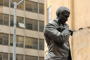 Francisco José de Caldas - Monument of Francisco José de Caldas on the Plaza de Caldas, Bogotá