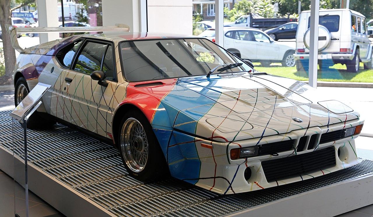 File Frank Stella Bmw M1 Procar Art Car Fl 1979 Jpg Wikimedia Commons