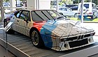 Stella, BMW M1 Pro car-painting, 1979; commissioned by Peter Gregg