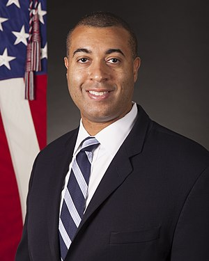Assistant Secretary of the Navy (Manpower and Reserve Affairs) - Image: Franklin R. Parker