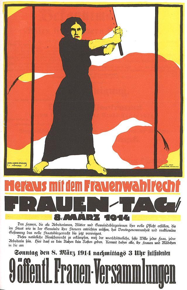 Frauentag 1914 Heraus mit dem Frauenwahlrecht.jpg