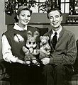 Fred Rogers and Tatiana Vedeneyeva on Set of Mister Rogers' Neighborhood.jpg