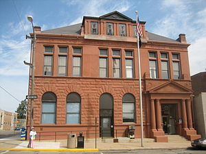 Freeport, Illinois - Freeport City Hall Building