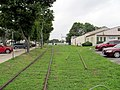 Freight rail spur in Niantic CT.JPG