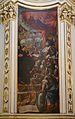 Fresc d'un pilar de la capella de sant Francesc de Paula, església de sant Sebastià, València.JPG