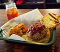 Fried green tomatoes and pulled pork.jpg