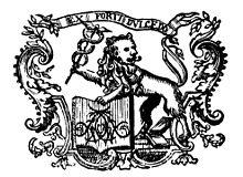 Typographische Marke von Nicolai (Quelle: Wikimedia)