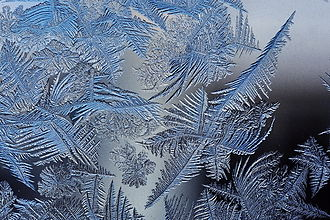 Fractal - Image: Frost patterns 2