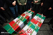 Funeral procession of victims of Ukrainian Boeing 737-800 plane crash in Hamadan 2020-01-16 05.jpg