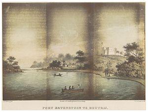 Fort Batenstein - Image: GRAMBERG(1861) p 218 FORT BATENSTEIN TE BOUTRIJ