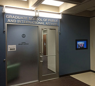 University of Pittsburgh Graduate School of Public and International Affairs - GSPIA's home on the third floor of Posvar Hall