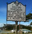 GUILFORD COURTHOUSE - NC State Historical Marker - panoramio.jpg