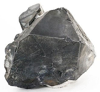 Galena, Illinois - A large galena crystal from the Galena mines