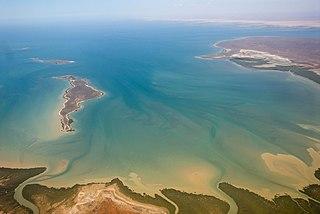 Pilbara Coast Coastline of Western Australia