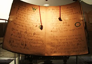 English: One of the Book of Shadows owned by G...