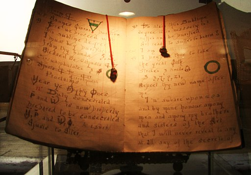 Gardner's Book of Shadows front