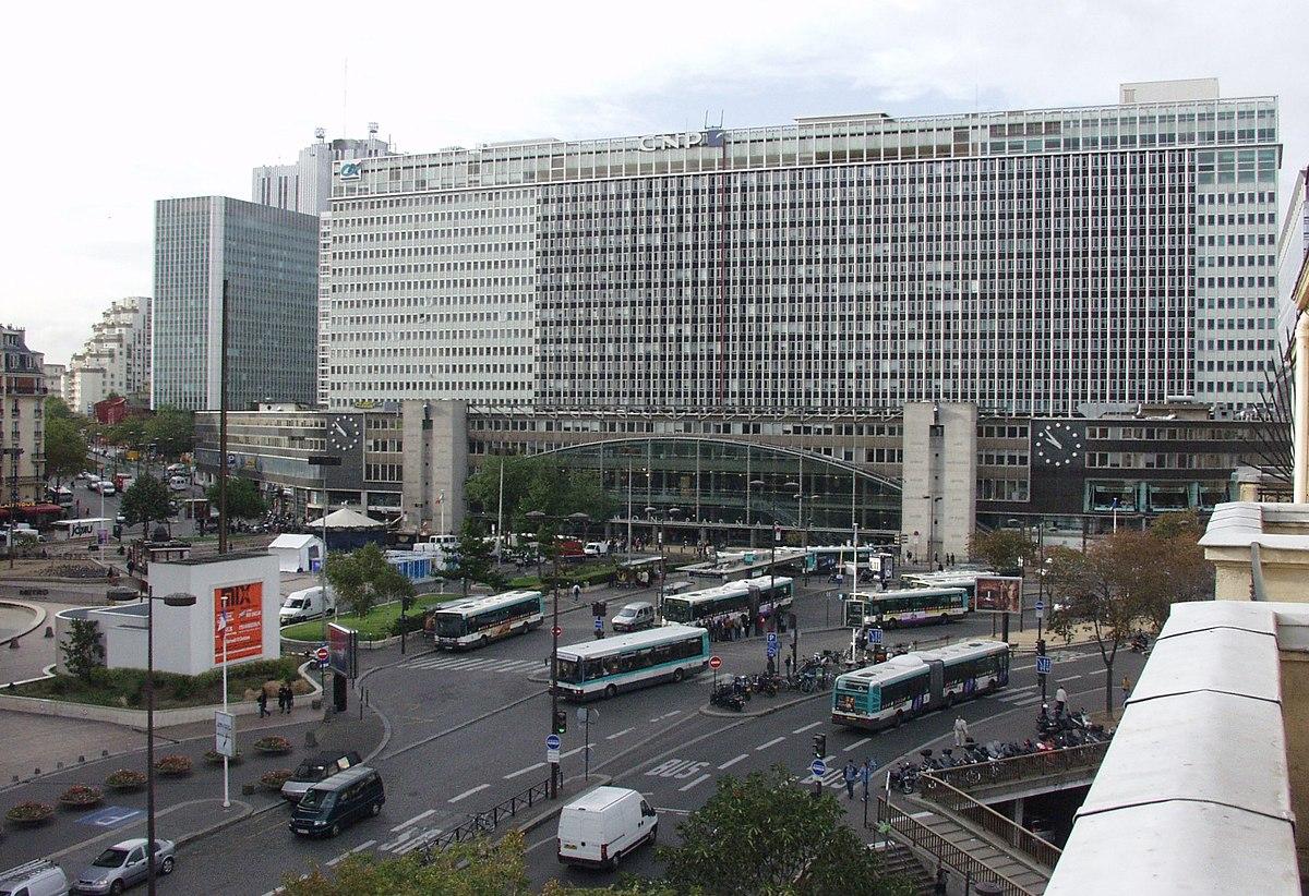 Gare montparnasse wikipedia for Piscine montparnasse