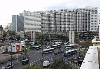 Gare Montparnasse - Montparnasse exterior
