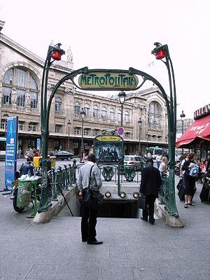 Gare du Nord (Paris Métro) - Image: Gare du Nord