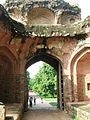 Gate way of Arab Sarai facing East towards the tomb of Humayun 05.JPG