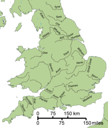 River trent within england