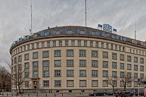 Schöneberg - The RIAS building in Berlin-Schöneberg