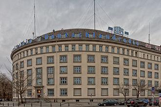Deutschlandfunk Kultur - The headquarters of Deutschlandfunk Kultur, formerly the RIAS building in Berlin