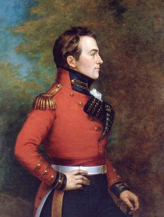 Battle of Queenston Heights - Major General Isaac Brock led a force made up of British regulars, Canadian militiamen, and Mohawk warriors during the Battle of Queenston Heights.