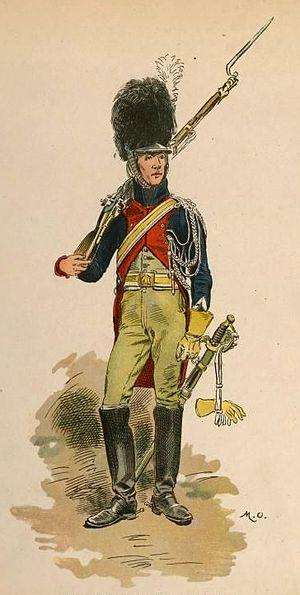 Gendarmes d'élite de la Garde Impériale - Gendarme d'élite