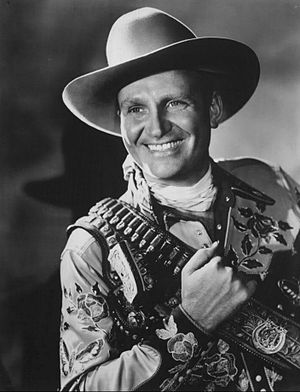 Singing cowboy - Gene Autry ca. 1940s