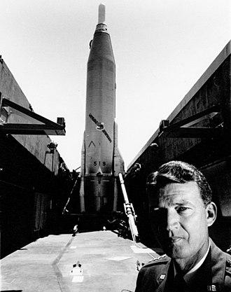 Bernard Adolph Schriever - Deploying the Atlas-series ICBM was Schriever's major achievement