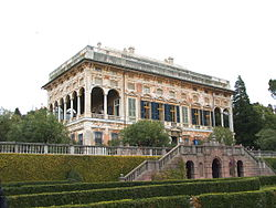 "Villa Saluzzo Bombrini, called ""Il Paradiso"" (""the Heaven""), one of the most renowned villas of Albaro"