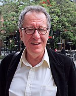 Photo of Geoffrey Rush at the 2011 Cannes Film Festival.