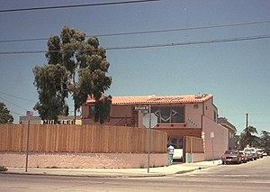 George Tobin - Tobin's North Hollywood studio in 1990