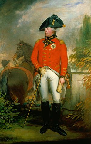 Georgian society in Jane Austen's novels - Portrait of George III (1738–1820), whose reign included all of Jane Austen's life.  By Sir William Beechey.