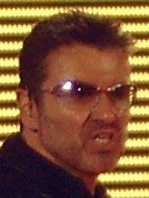 George Michael face