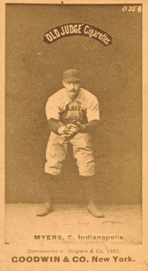 George Myers (baseball) - Image: George Myers