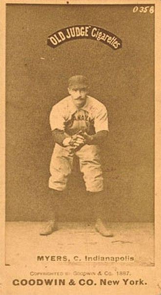 George Myers (baseball) - Image: George Myers
