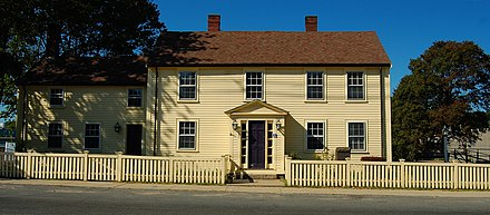 Peabody's birthplace, now the George Peabody House Museum George Peabody House.JPG
