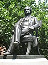 George Peabody statue, Mount Vernon Place, Baltimore, MD.jpg
